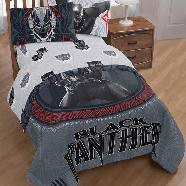 Marvel Black Panther Wakanda 3 Piece Twin Sheet Set