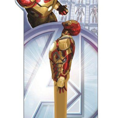 Marvel Iron Man Flashlight with Mini Keychain Flashlight