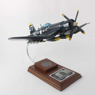 Mastercraft Collection Corsair Jim Tobul 1/32 Scale Model with Real Plane Relic
