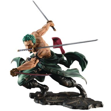 Megahouse One Piece Portrait of Pirates: Sa-Max Roronoa Zoro (San Zen Version) PVC Figure