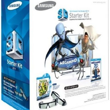 Free Samsung 3D Starter Kit