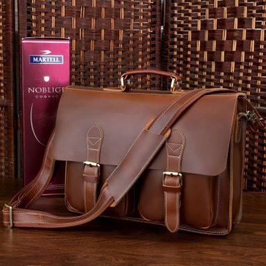Men's Briefcase Handbag Laptop Messenger Bag