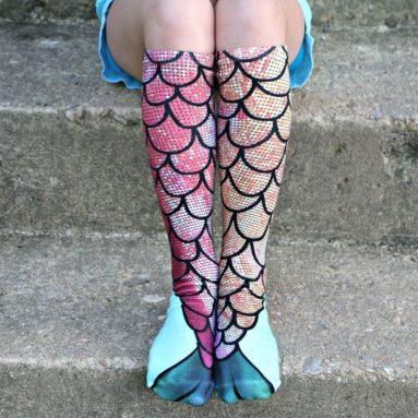 Mermaid Socks Crazy Fun