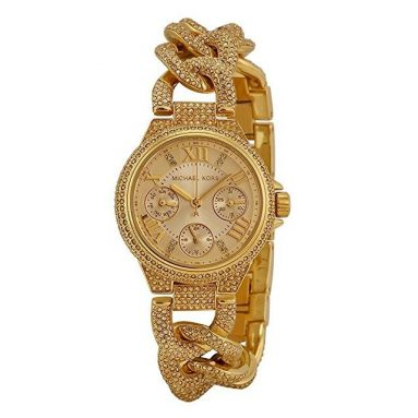 Michael Kors Crystal Encrusted Ladies Watch