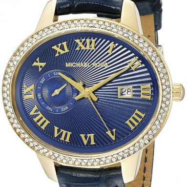 Michael Kors Women's Whitley Blue Watch