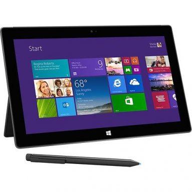 Microsoft – Surface Pro 2 with 128GB – Dark Titanium