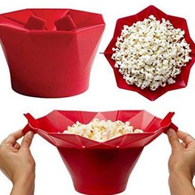 Microwave Popcorn Popper Silicone Popcorn Maker