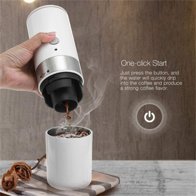 Mini Electric Portable Coffee Maker Espresso Handheld Machine