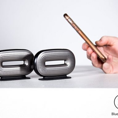 Mini-O Portable Bluetooth Speaker Pair – Pocketable and Powerful with Unparalleled Audio Technology