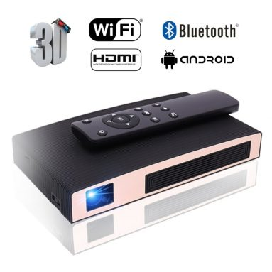 Mini Projector DLP Portable Video LED