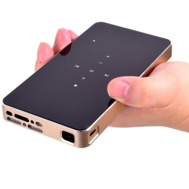 Mobile DLP Projector Mini Pico Pocket Video Wifi Portable Projector HDMI Built-in Player