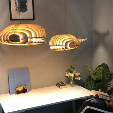 Modern Pendant Lamp Displays