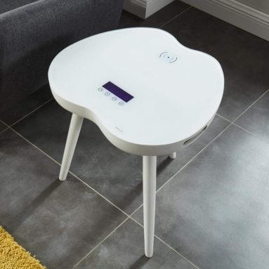Modern Smart Table Wireless Charging with bluetooth speakers