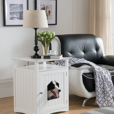Molly Pet House Side Table