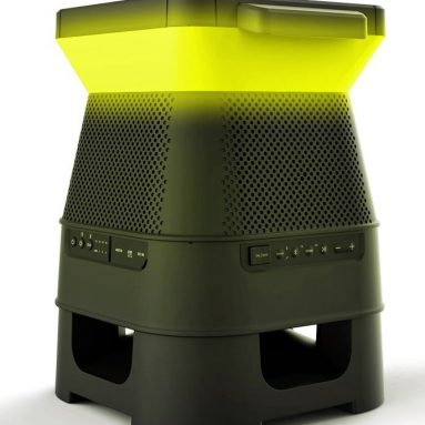 Monster SOLARA – Solar Powered, Pair Up To 8 Speakers