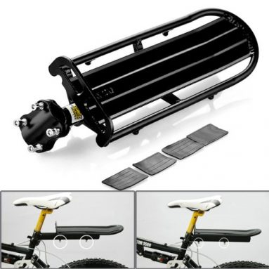 Mountain Cycling Bike Bicycle Extendable Rear Carrier Rack Seat