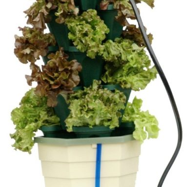 Mr. Stacky Stacking Hydroponic Pots Power Tower Garden