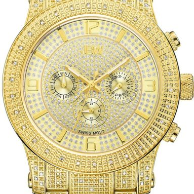 Multi Function Diamond Watch