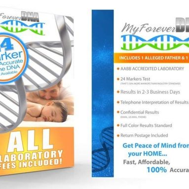 My Forever DNA (At-Home) Paternity Testing Kit