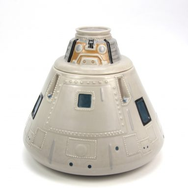 NASA Apollo Ceramic Cookie Jar