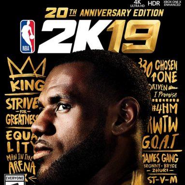 NBA 2K19 20th Anniversary Edition – Xbox One