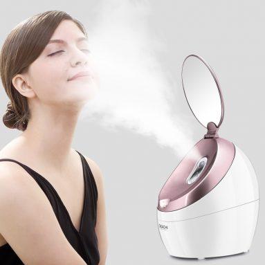 NanoSteamer Warm Mist Moisturizing Nano Ionic Facial Steamer