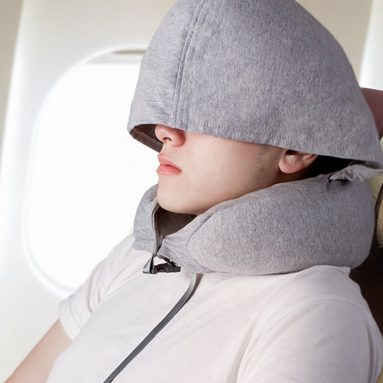 Natural Latex Travel Pillow for Airplanes