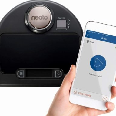 Neato Botvac Connected WiFi Enabled Robot Vacuum – Alexa Compatible