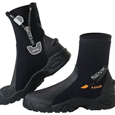 Neoprene Wetsuit Boots with Side Zipper