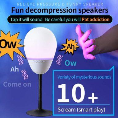 New Stress-Relief Music Light Smart Life Creative Funny Speaker