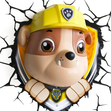 Nickelodeon Paw Patrol Rubble 3D Deco Light