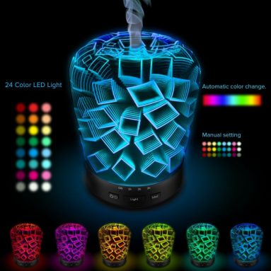 Night light Aromatherapy Ultrasonic Essential Oil diffuser