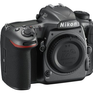 Nikon D500 100th Anniversary Edition with 3.2-Inch LCD