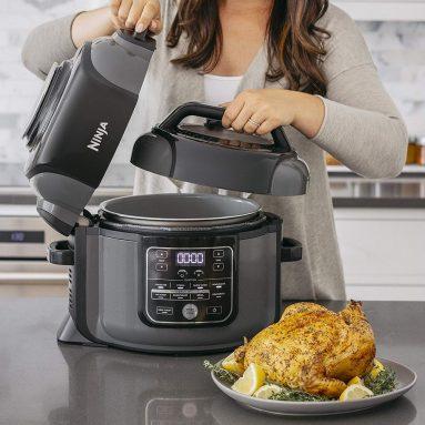 Cyber Monday: Ninja OP401 Foodi 8-Quart Pressure, Steamer, Air Fryer All-in-One Multi-Cooker