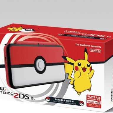 Nintendo New 2DS XL – Poke Ball Edition