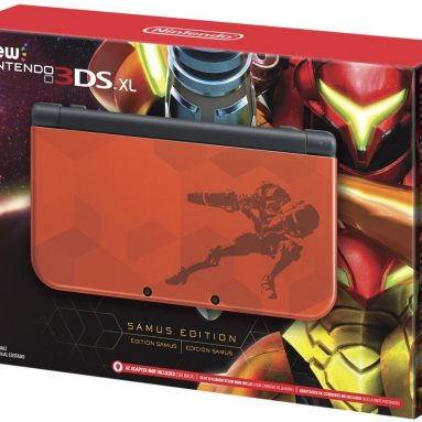 Nintendo New 3DS XL – Samus Edition