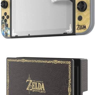 Nintendo Switch Zelda Collector's Edition Screen Protection and Skins