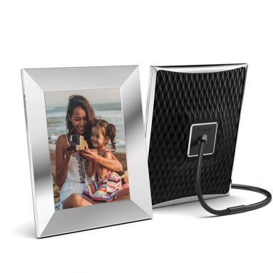 Nixplay 9.7 Inch Smart Photo Frame W10G Metal