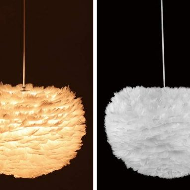 Nordic Modern Feather Pendant Light