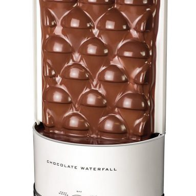 Nostalgia 3-Pound Capacity Chocolate Fondue Waterfall