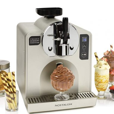 Nostalgia FDM1 Soft Serve Ice Cream & Frozen Dessert Machine