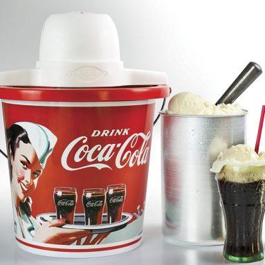 Nostalgia Coca-Cola 4-Quart Ice Cream Maker