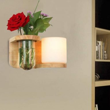 Nurluce Wall Sconce Wooden Wall Lamps