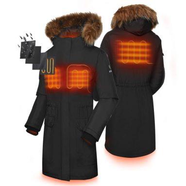 ORORO Women's Heated Parka Jacket