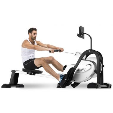 OROTO Magnetic Rower Rowing Machine with LCD Display