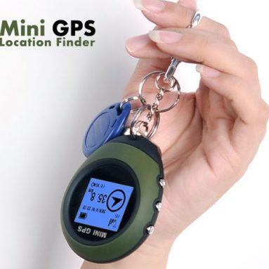 GPS Receiver + Location Finder Keychain