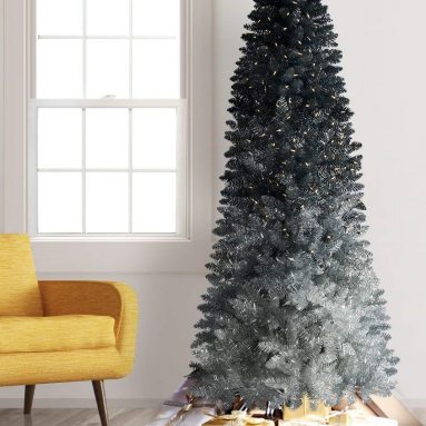 Ombre Artificial Christmas Tree