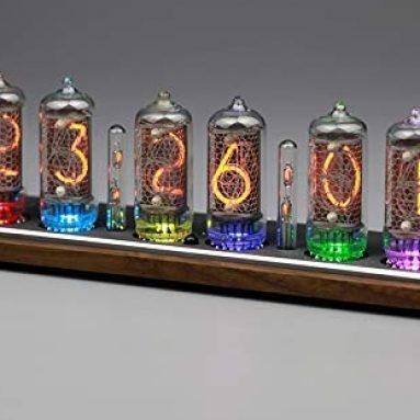 Omnixie glow clock ultra-thin smart WIFI former Soviet Union tube clock digital clock