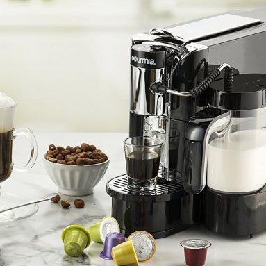 One Touch Automatic Espresso Cappuccino & Latte Maker Coffee Machine