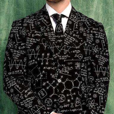 OppoSuits Classy Printed Men's Suit